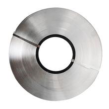 Лента из чистого никеля для литиевой 18650 аккумуляторной точечной сварки, совместимая с точечной сварочной машиной 0,1x5 мм 2 м
