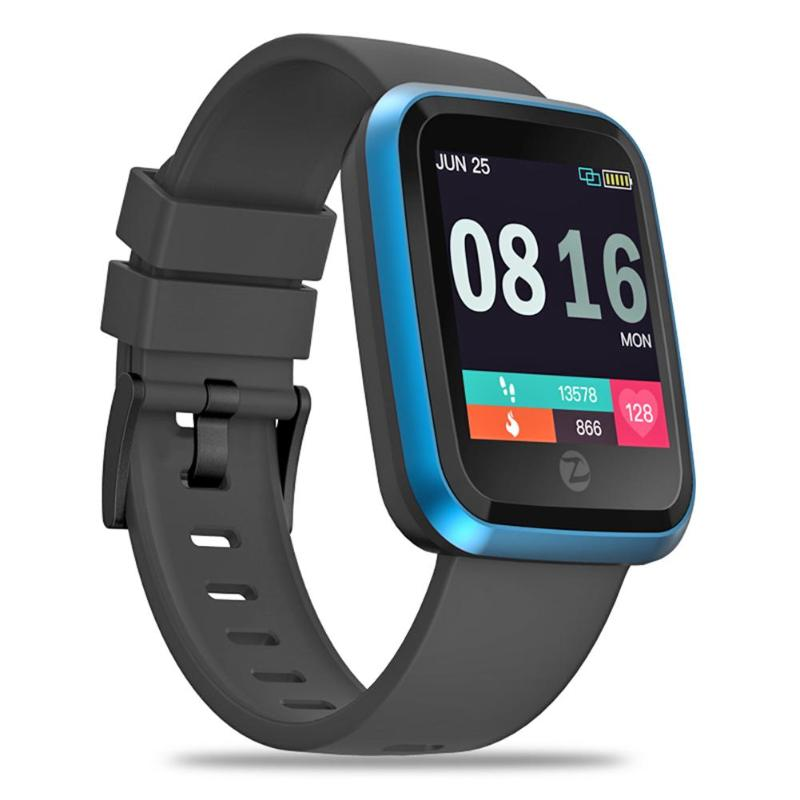 Zeblaze Crystal 2 Smartwatch IP67 Waterproof Wearable Device Heart Rate Monitor Color Display Smart Watch For Android IOS Hot orologio delle forze speciali