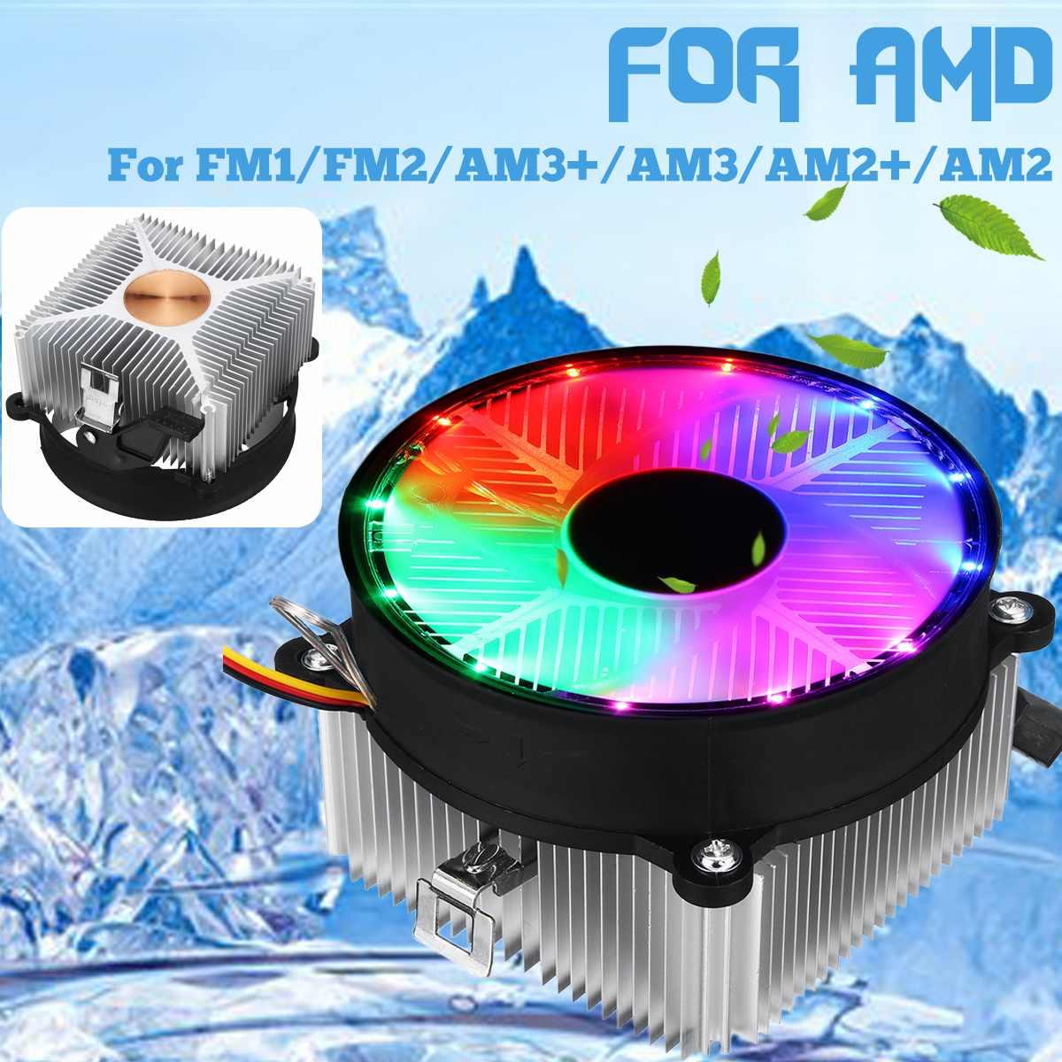 S Skyee Cpu Cooler Cooling Fan Led Cooling Heatsink Quiet 3pin Fan Radiator Heatsink Universal For Amd Fm1 Fm2 Am3 Am3 Am2 Am2 Aliexpress Com Imall Com