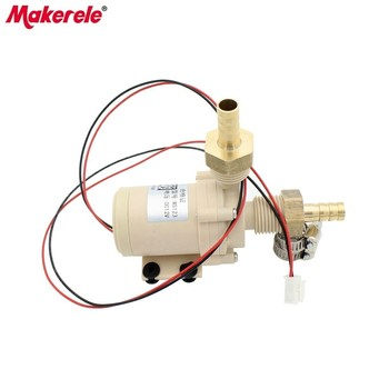 Brushless DC Water Pump 12V/24V Silent High Temperature Solar Electric Gas Water Heater Circulating Booster Pump