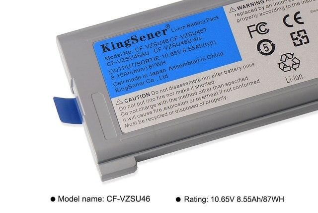 KingSener 10,65 V 8.55Ah, batería para ordenador portátil, CF-VZSU46 para Panasonic Toughbook CF-30 CF-31 CF-53 CF-VZSU46AU CF-VZSU46U CF-VZSU46S
