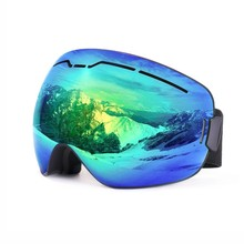 Ski Snow Goggles OTG Design For Men Women With Spherical Dual Layer Lens Anti-fog UV400 Protection Snowboard  Eyeglasses Mask ski goggles snowboard snowmobile goggles with magnet fast lens changing system 100% uv400 protection anti fog spherical goggle