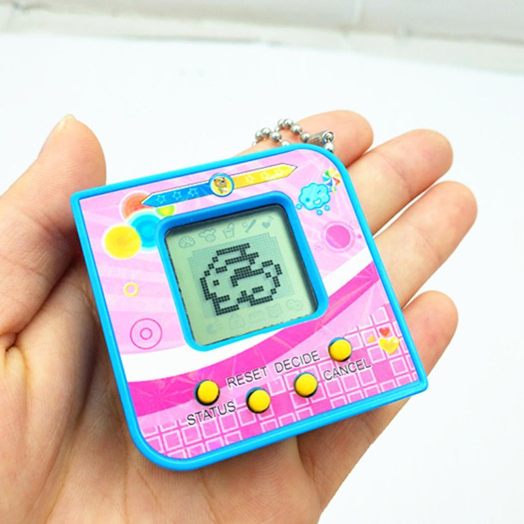 Virtual Funny Pet Square Game Retro Years Picture As Toy Handheld Tamagotchi Unisex Kids Machine Electronic 3