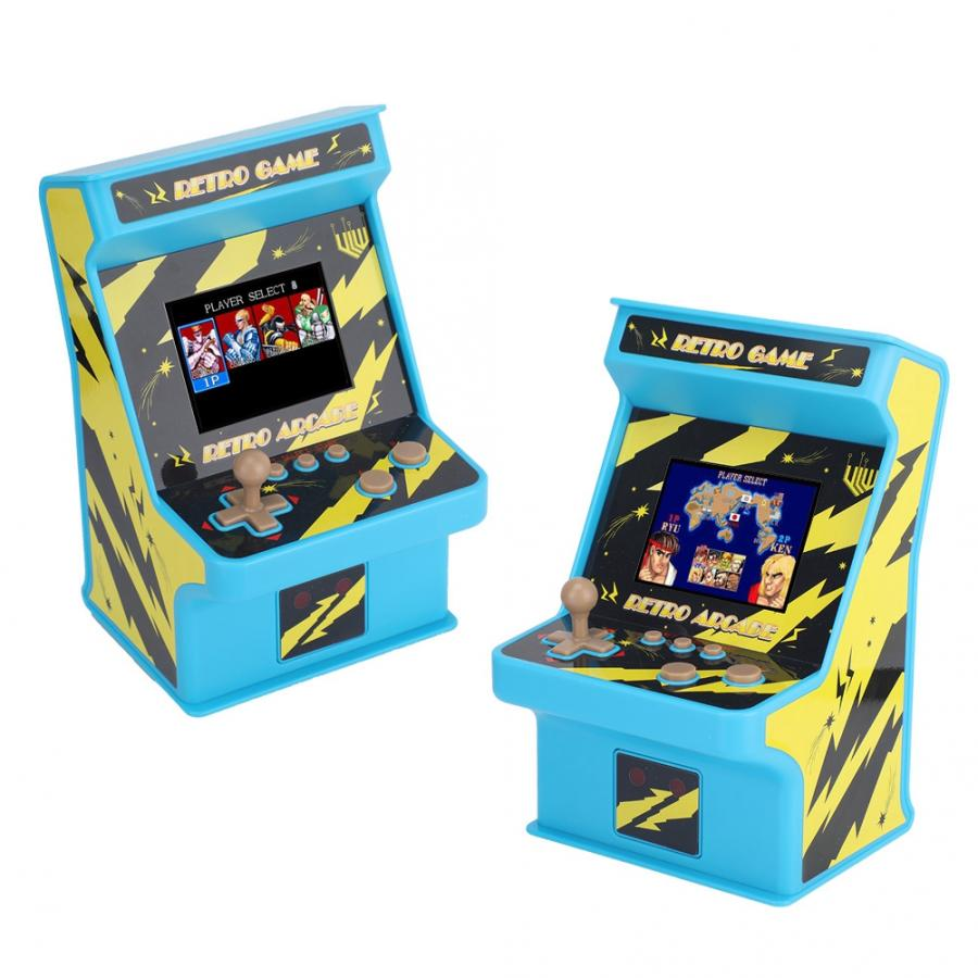 Handheld Game Console Video Game Mini Portable 1/2 Players Handheld Game Console Player System 256 Games