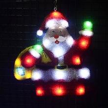 2d мотив огни Санта Клауса 215 дюйма Высокий праздник Огни наружное
