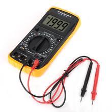 DT-9205A Ручной ЖК-цифровой мультиметр Профессиональный AC/DC Вольт Ампер Ом Емкость Гц тестер Цифровой мультиметр