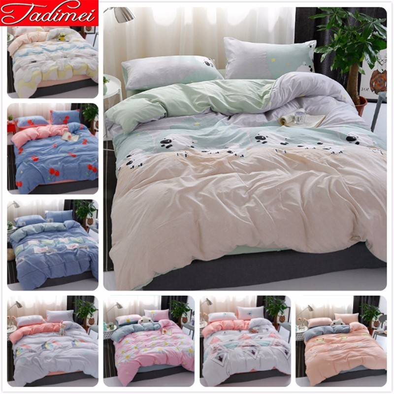 New Fashion Duvet Cover Bedding Set Adult Kids Child Soft Cotton Bed Linen Single Twin Full Queen King Size Bedspreads BedlinensNew Fashion Duvet Cover Bedding Set Adult Kids Child Soft Cotton Bed Linen Single Twin Full Queen King Size Bedspreads Bedlinens