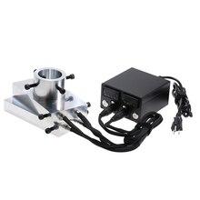 Heat Rosin Press Kit Plates Heavy Duty Enail Heating Aluminium Plate Electric Temperature Controller Box Rod Rosin Press