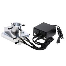 ความร้อน Rosin Press ชุดแผ่น Heavy Duty Enail ความร้อนอลูมิเนียมไฟฟ้าอุณหภูมิ Controller กล่อง Rod Rosin Press