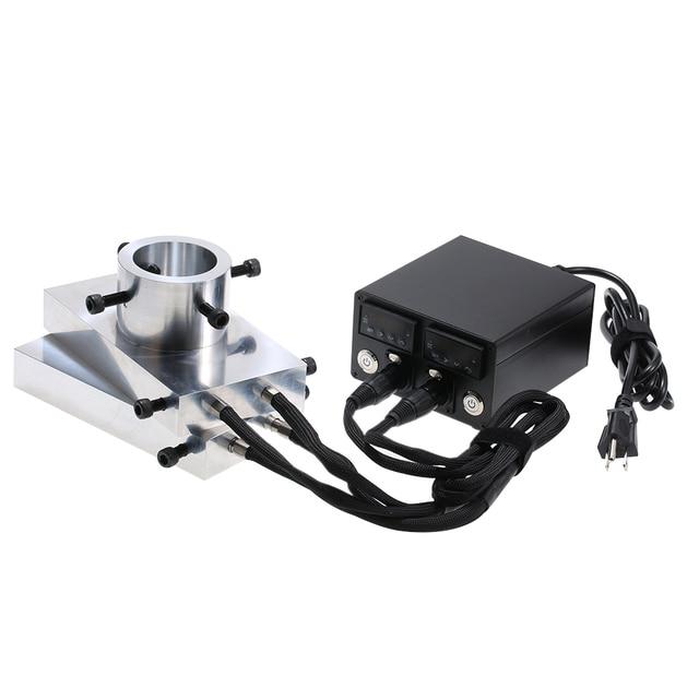 Wärme Kolophonium Presse Kit Platten Heavy Duty Enail Heizung Aluminium Platte Elektrische Temperatur Controller Box Stange Kolophonium Drücken