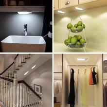 USB Human Body Motion And Light Sensor LED Night Creative Universal for Closet Living Room Wardrobes