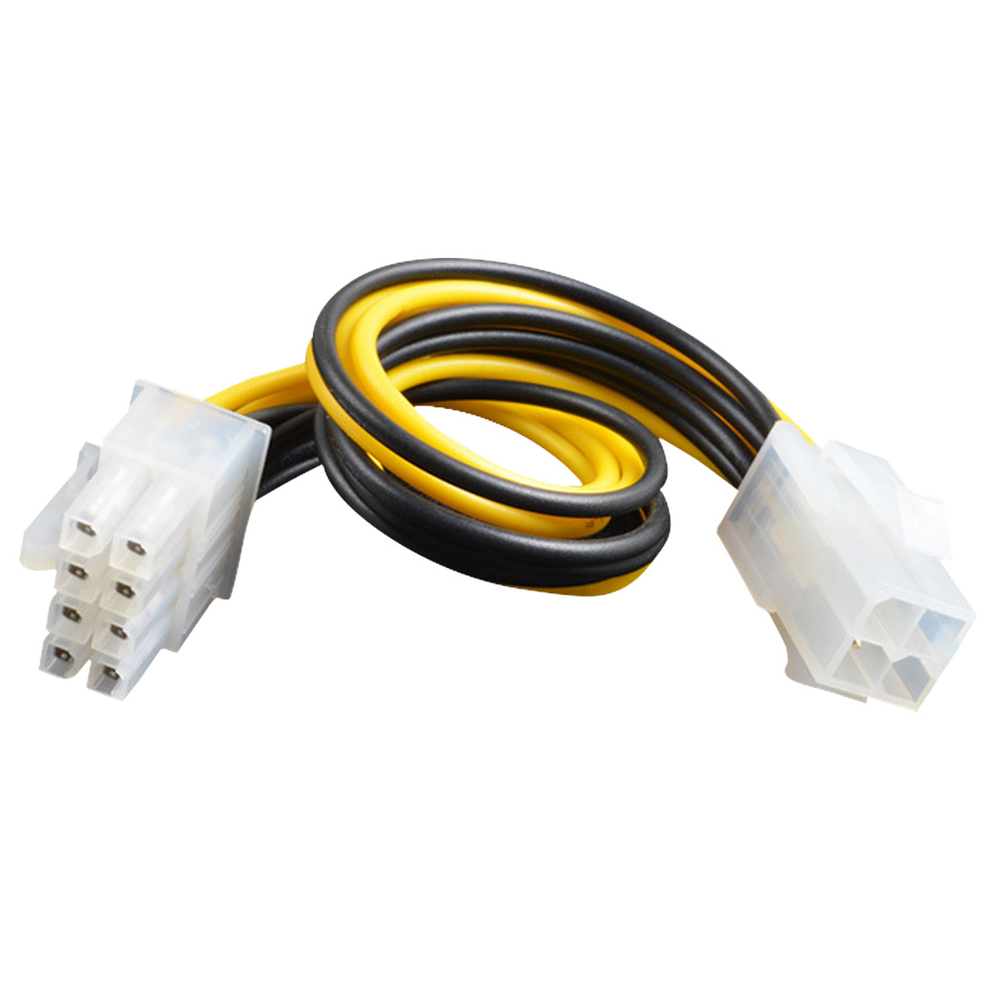 New Computer Cables Professional ATX 4 Pin Male To 8 Pin Female EPS Power Cable Cord Adapter CPU Power Supply Connector