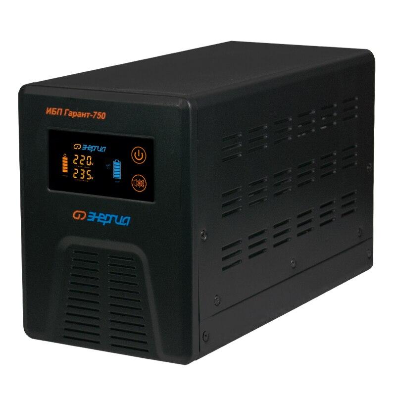 Uninterruptible power supplies Energy Garant-750 цена в Москве и Питере