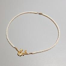 LiiJi فريدة من نوعها الطيور والأوراق ريال المياه العذبة حبات صغيرة 925 فضة الذهب اللون المشبك ديليكاتيد مجوهرات النساء هدية