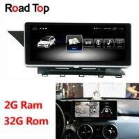 10,25 Android дисплей автомобиля радио мультимедиа мониторы gps навигации головное устройство для Mercedes Benz GLK 300 320 350 200 220 280 250