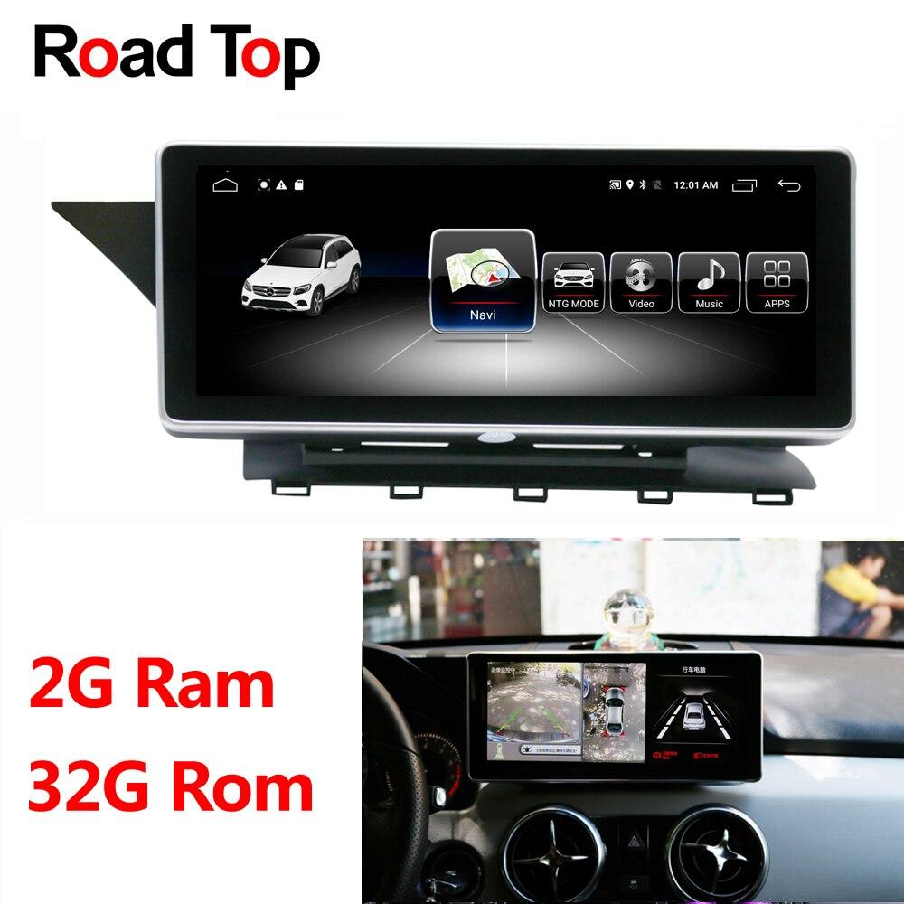 10.25 Android Affichage De Voiture Radio Multimédia Moniteur de Navigation GPS Unité de Tête pour Mercedes Benz GLK 300 320 350 200 220 280 250