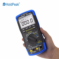 Holdpeak HP-770HD multímetro digital autorange verdadeiro rms ac/dc tensão frequência capacitância resistência tester hfe multímetro