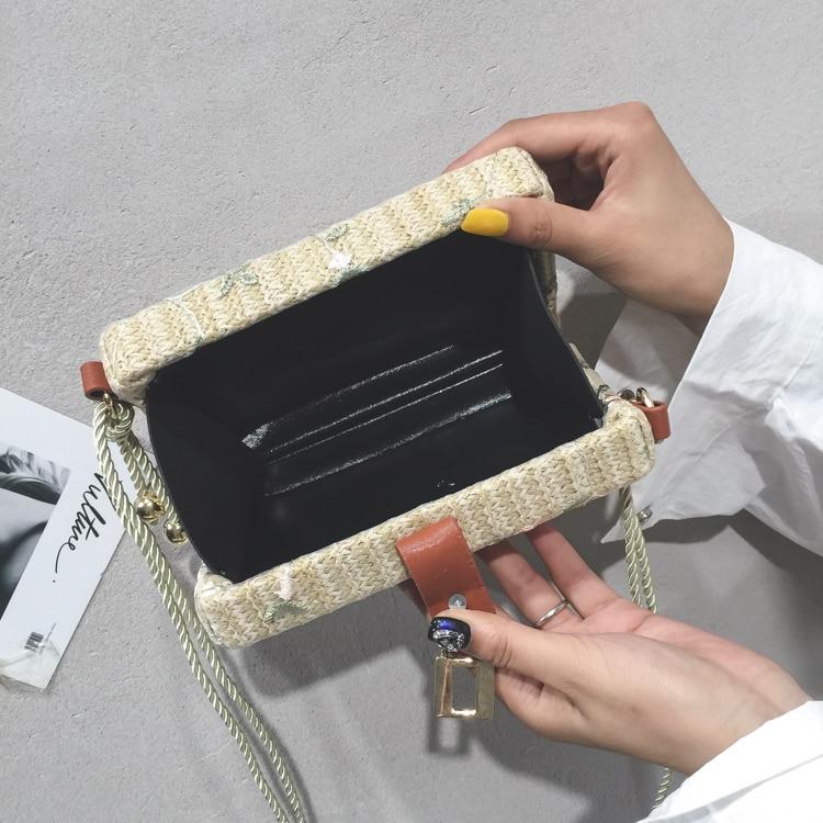 Estate Nuovo Bag Messenger In Donna Khaki Partita super Lm200 I Paglia Moda Colore Kaki Spliced Alla Singola Fiori Primavera 2019 Cinghia Seabob Tutti q6xfZ0tp