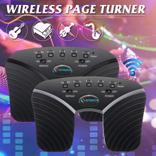 New bluetooth Page Turner Music Pedal Wireless For Guitar Tablets PC Rechargeable Electron