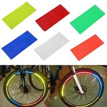 Stickers Bicycle Decal Bike Reflective Motorcycle-Wheel Strip PVC Tape-Safety Tire