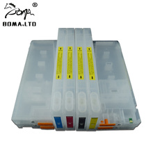7880 9880 Show ink Level Chip Empty Refillable Ink Cartridges For EPSON Stylus Pro 7880 9880 Printer T6041-T6047 T604 8 color 1000ml pigment printer ink for epson 7880