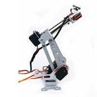 Domibot DIY 6DOF RC Robot Arm Stainless Steel Robot Arm For Arduino