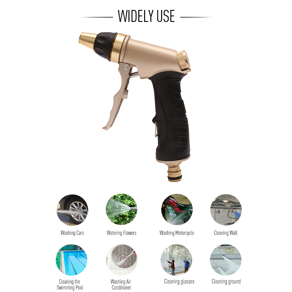 Automobiles & Motorcycles Industrious 2019 High Pressure Power Washer Gun With Copper Nipple For Washing Car Vehicle Wall Floor Car Washer Gun Car Styling Harmonious Colors