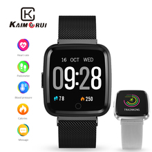 Fitness Bracelet IP67 Waterproof Smart Wrist Band Heart Rate Monitor Pedometer Activity Tracker for Android IOS Watch Phone kr02 ip68 waterproof fitness bracelet gps smart band heart rate monitor watch activity tracker 3 for xiao mi android ios phone