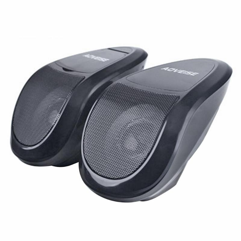 Su geçirmez Moto bluetooth hoparlör Hoparlör MP3 Müzik Ses Çalar Ses Sistemi FM Radyo Motosiklet/atv/utv/Scooter