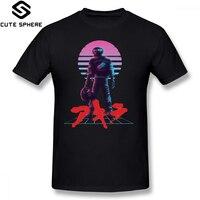 Акира футболка Акира 80 S вдохновил футболка kaneda мужские 6xl хлопковая футболка с коротким рукавом пляжные с принтом Милая футболка