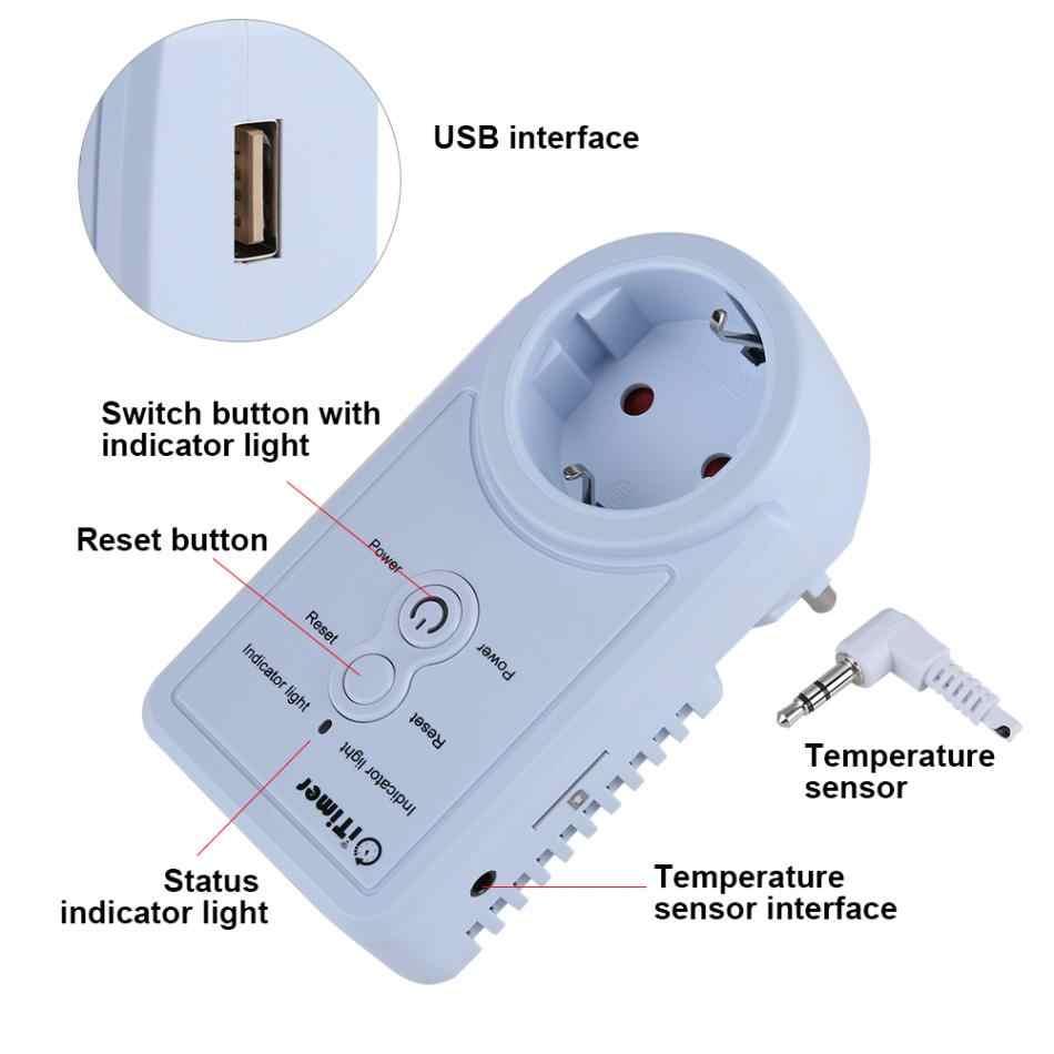 Gsm-розетка, умный выключатель, розетка, розетка с датчиком температуры, SMS, управление командой, штепсельная вилка европейского стандарта, горячая распродажа
