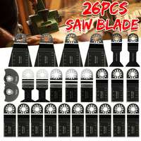 Doersupp 26pcs Mixed Blades Multitool Saw Blade Accessories For Fein Multimaster Makita