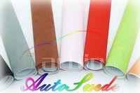 ткань замша самоклеющиеся пвх плёнка для обивка, 1.35 * 15 м воздушный пузырь