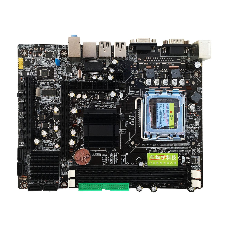 Jia Huayu nouvelle carte mère professionnelle 945 945GC + ICH Chipset Support LGA 775 667/800 MHz SATA2 Ports mémoire DDR2 double canal