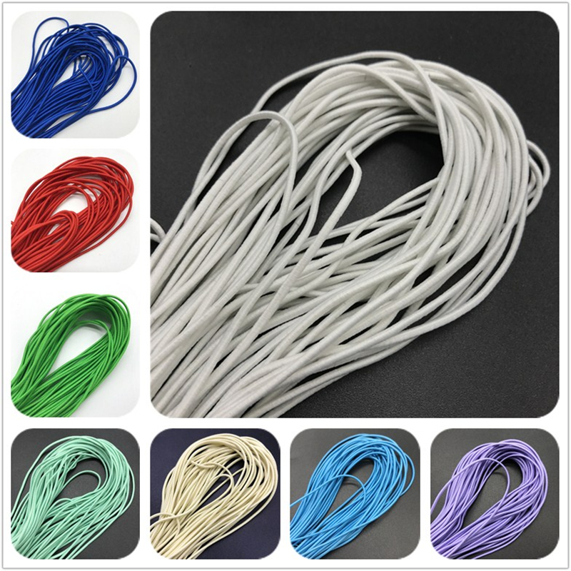 "Doll Stringing Elastic 2.0mm for Dolls 6-8/"" 10 yd pkg"