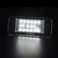light led sports 2x 18SMD White car license light car styling For Opel Zafira Astra J sports Vectra Estate Led number license plate light (1)