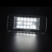 2x 18SMD White car license light styling For Opel Zafira Astra J sports Vectra Estate Led number plate