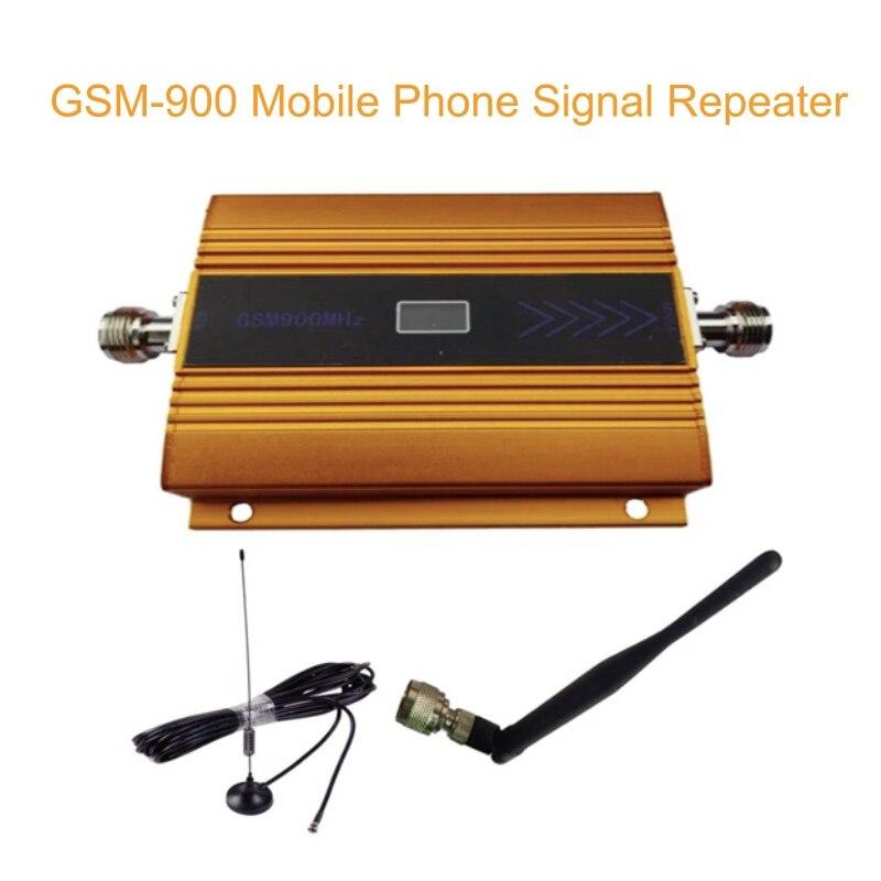 900 MHZ amplificateur de Signal de téléphone portable répéteur gain 60dbi LCD avec antenne N mâle pour antenne extérieure de bureau de maison avec câble 10 m