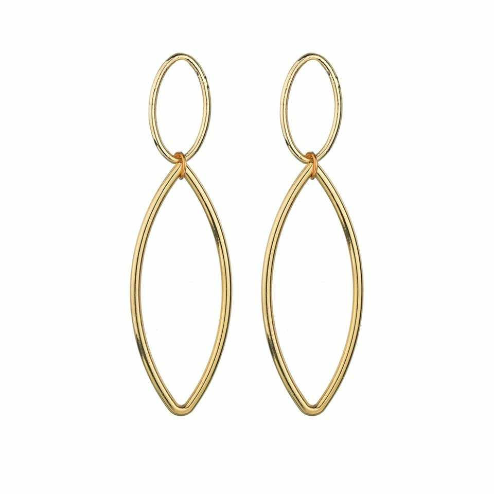 Милые асимметричные серьги в виде звезд и круглых колец для женщин, модные дизайнерские серьги для женщин, свадебные украшения ручной работы, подарки