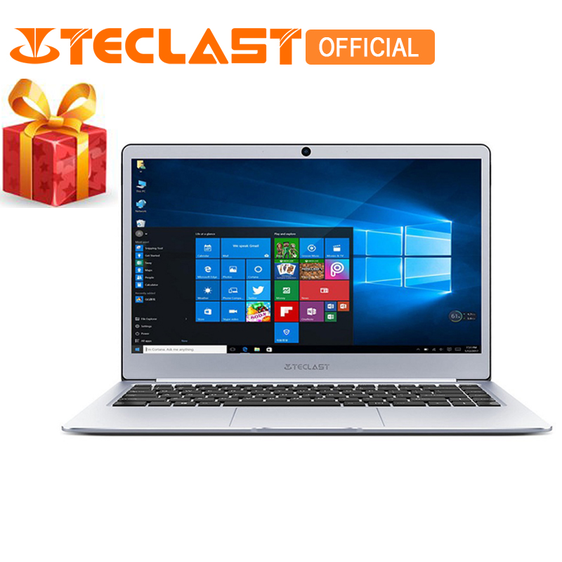 Teclast F7 Portable 14.0 pouce 1920*1080 Intel Celeron N3450 Windows 10 Quad Core 6 gb RAM 128 gb SSD HDMI Bluetooth 4.2 Ordinateurs Portables