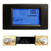100A DC Multifunction Digital Voltmeter Ammeter Volt Voltage Power Current Meter Tester Gauge Energy Monitor Module with Shunt цены