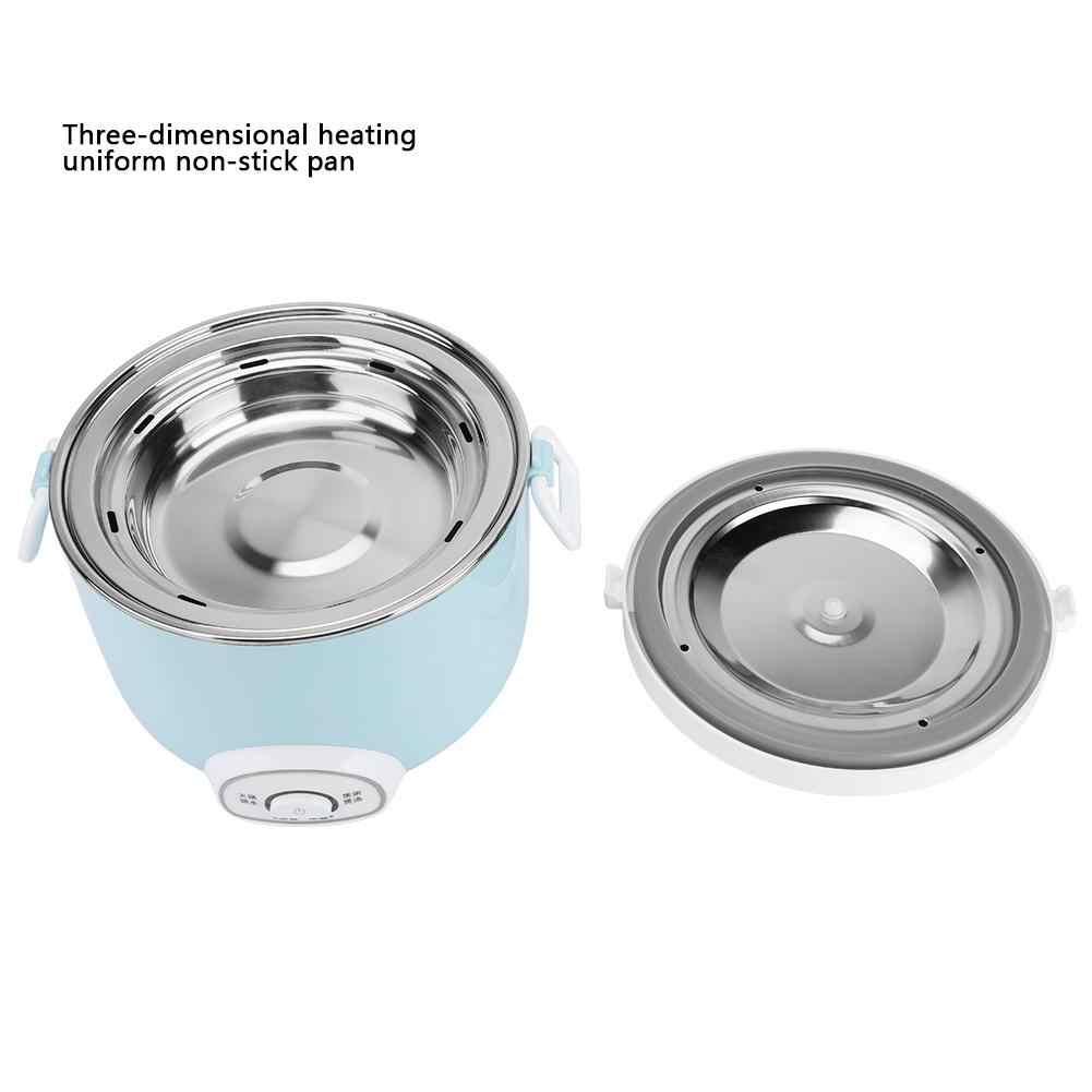 2L Mini Rice Cooker Isolasi Pemanas Listrik Kotak Makan Siang Portabel Steamer Multifungsi Otomatis Wadah Makanan Hot Sale
