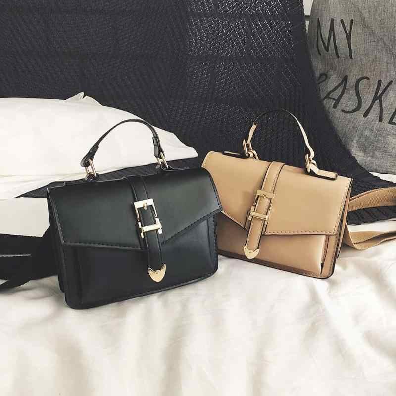 ef8502f30f6e Стильная женская сумка с длинным ремешком, женская сумка из искусственной  кожи, женская сумка через