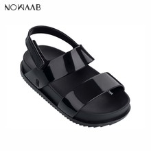 Buy Mini Melissa Cosmic Sandal 2019 New Original Girl Jelly Sandals Boys Kids Sandals Children Beach Shoes Non-slip Toddler Shoes directly from merchant!