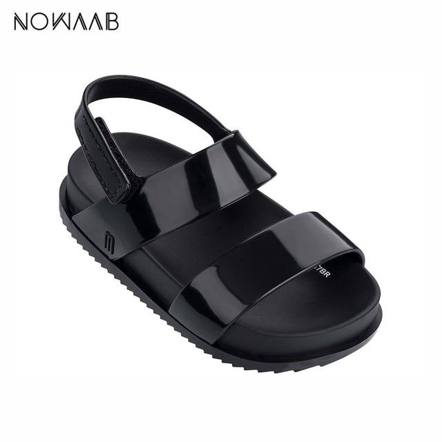 Mini Melissa Cosmic Sandal 2019 New Original Girl Jelly Sandals Boys Kids Sandals Children Beach Shoes Non-slip Toddler Shoes