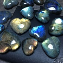Natural Labradorite Blue Moonlight  Pendant nature stone