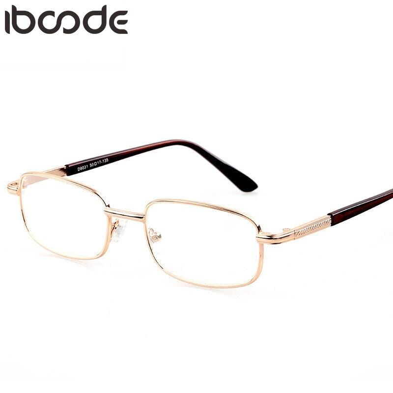 Iboode Novo Óculos de Leitura Hipermetropia + 50 + 75 + 100 + 125 + 150 + 175 200 + 225 + 250 + 275 + 325 + 350 + 375 + 400 + 450 + 500 + 550 + 600