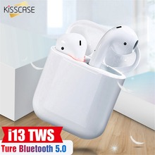 KISSCASE i13 i12 TWS Mini Bluetooth Earphone For All Mobile Phone Earbuds With Charging Box head phone auriculares inalambrico