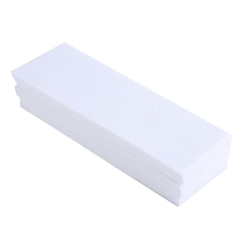 100pcs Hair Removal Remove Epilator Paper Waxing Depilatory Strip