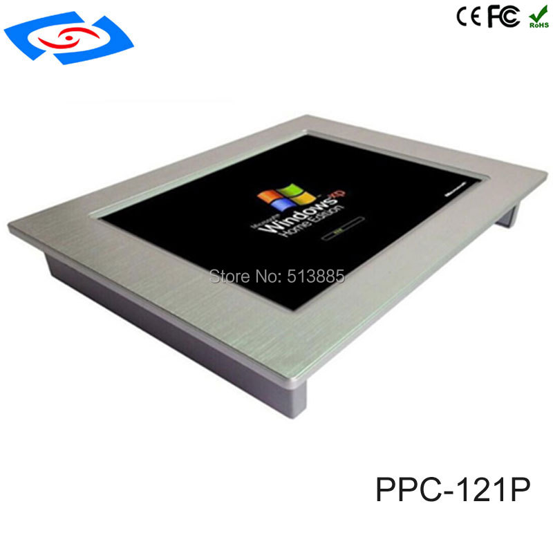 Image 3 - 12.1 inch Fanless Industrial panel PC 4*com touch screen tablet pc support windows xp / windows10 system-in Industrial Computer & Accessories from Computer & Office